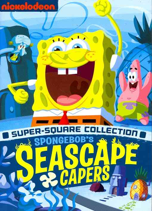 SPONGEBOB SQUAREPANTS:SEASCAPE CAPERS BY SPONGEBOB SQUAREPANT (DVD)